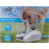 AFP Step & Spray - Dog Water Fountain