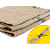 Original Hessian Bags - Steel Dog Bed Covers