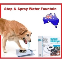 Step & Spray Dog Water Fountain