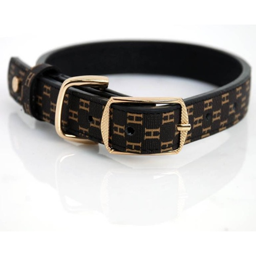 Petstwo Luxury Leather Collar - Medium